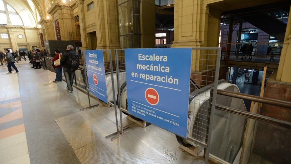 Principal queja del transporte; escaleras mecanicas que no funcionan